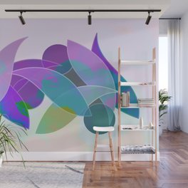 Colorful Leaves Wall Mural