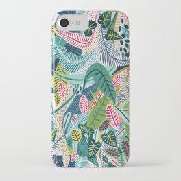 Jungle Pattern iPhone Case