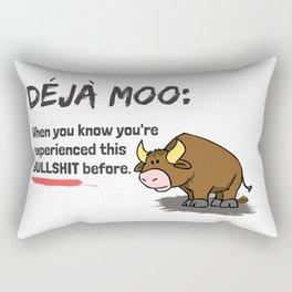 Deja Moo!! Rectangular Pillow