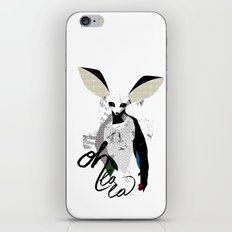 Oh la la - fennec fox iPhone & iPod Skin