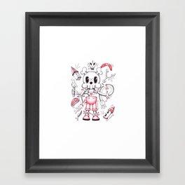 Skulltoons No.4 Framed Art Print