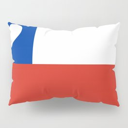 Texas State Flag with Heart Pillow Sham