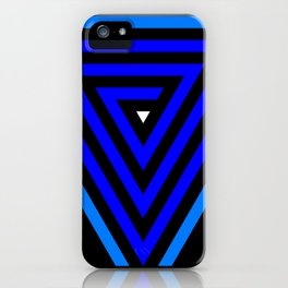 Vainessum - blue integration iPhone Case