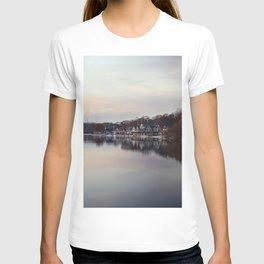 Boat House Row, Philadelphia T-shirt