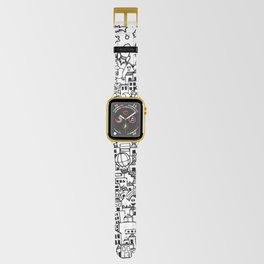 Immortal City BW Apple Watch Band