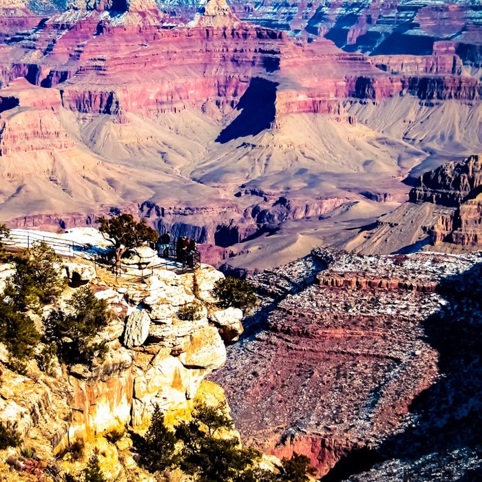 Desert view at Grand Canyon national park, USA Comforters