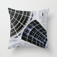 milan Throw Pillows featuring Milan 2 by Alev Takil