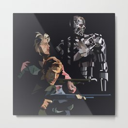 Targeted for Termination (The Terminator) Metal Print