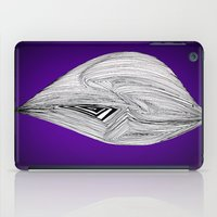 spaceship iPad Cases featuring Spaceship by Ajinkya Pawar
