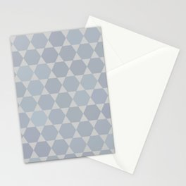 Star Of David | Modern Geometry Stationery Cards