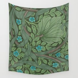 "William Morris ""Forget-Me-Nots"" (""Pimpernel"" detail) Wall Tapestry"