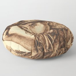 Hell on Wheels Inspired, Mr. Bohannon Floor Pillow
