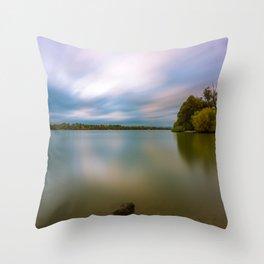 Danubian evening Throw Pillow