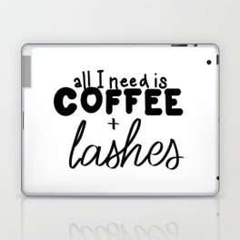 Coffee & Lashes Laptop & iPad Skin