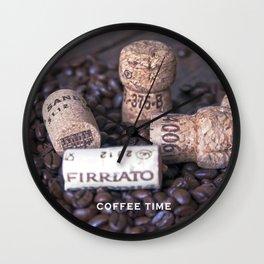 COFFEE & CORK  Wall Clock