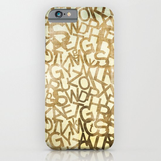 Din pattern iPhone & iPod Case