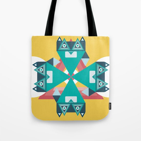 Biconic repetition Tote Bag