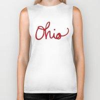 ohio Biker Tanks featuring Ohio by Alisha Williams