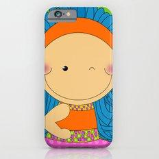 Happy Tuesday! - Fun, sweet, unique, creative and colorful, original,digital children illustration iPhone 6s Slim Case