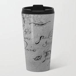 Bonjour Madam, gray Metal Travel Mug