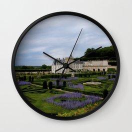 Villandry Lavender  Wall Clock