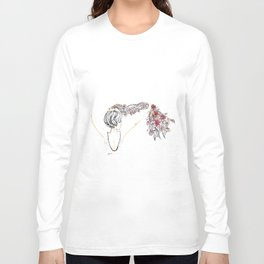 rose shower Long Sleeve T-shirt