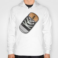 vans Hoodies featuring Cute black Vans all star baby shoes apple iPhone 4 4s 5 5s 5c, ipod, ipad, pillow case and tshirt by Three Second