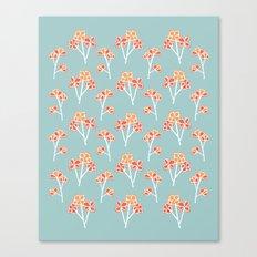 anemone flowers :: sea mist Canvas Print