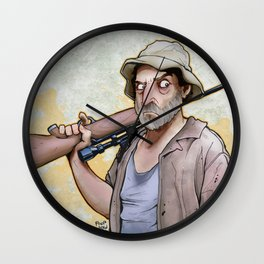 Dale Horvath Wall Clock
