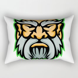 Cronus Greek God Mascot Rectangular Pillow