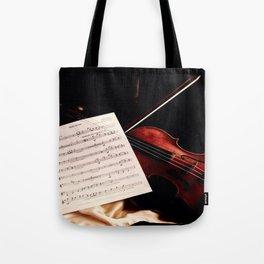 My Violon, My life Tote Bag