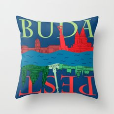 Buda Pest Throw Pillow
