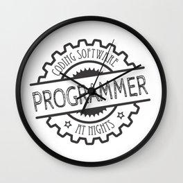 Programmer vintage Wall Clock
