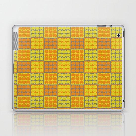 Hob Nob Orange Quarters Laptop & iPad Skin