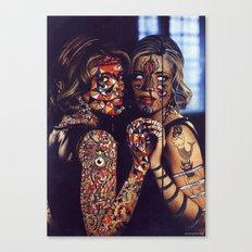 Psychoactive Bear 2 Canvas Print