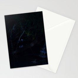 Bird in Moonlight Stationery Cards
