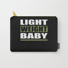 Light Weight Baby Fitness Motivation Carry-All Pouch