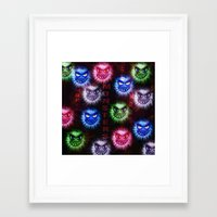 monsters Framed Art Prints featuring Monsters by CLE.ArT.
