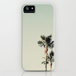 Sea Green Palms iPhone Case