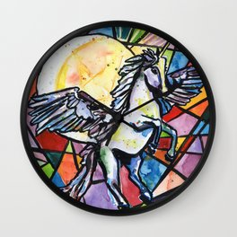 Unicorn + Pegasus = Alacorn Magic Wall Clock