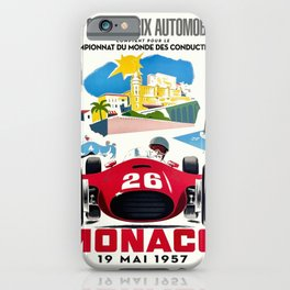 Classic Grand Prix Poster iPhone Case