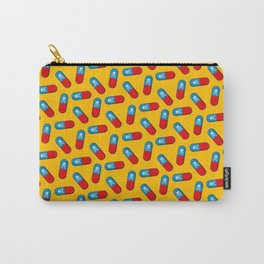 Deadly but Colorful. Pills Pattern Carry-All Pouch