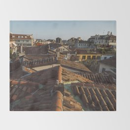 Tramonto a Milano Throw Blanket