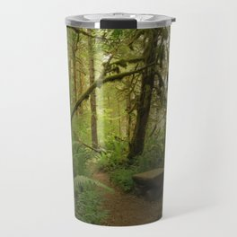 Bench of Serenity in the North Cascades Travel Mug