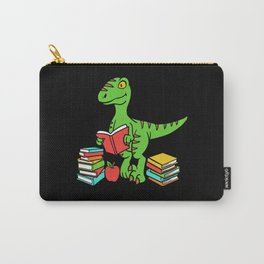 Velocireader Dinosaurs School School Books Motif Carry-All Pouch