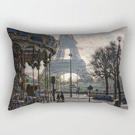 manège parisienne Rectangular Pillow