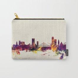 Liege Belgium Skyline Carry-All Pouch