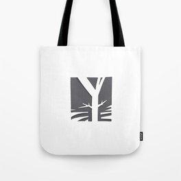 The Y Tree Tote Bag