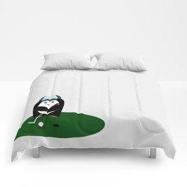 Putting Penguin Comforters