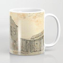 Ghost Town Bodie California Coffee Mug